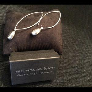 """Silpada Retired """"Just Dropping In"""" Earrings"""